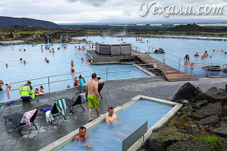 Лучшие достопримечательности Исландии. Термальные ванны Миватн.