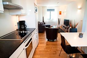 Апартаменты с кухней в Рейкьявике, Исландия. Reykjavik4You Apartments.