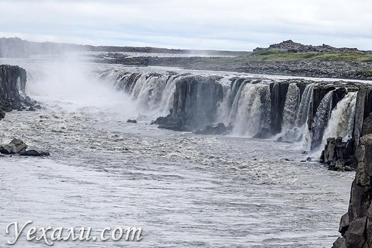 Водопады Исландии. Сельфосс (Selfoss).