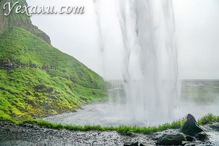 Самые красивые водопады Исландии. Сельяландсфосс.