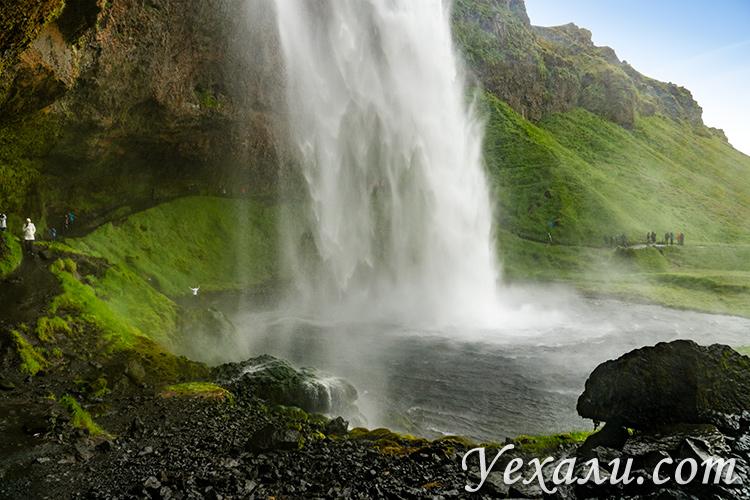 Самые популярные Достопримечательности Исландии. Водопад Сельяландсфосс.