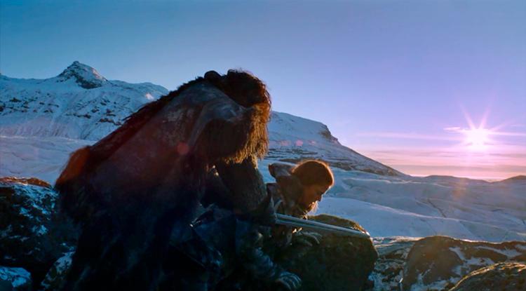 Где в Исландии снимали Игру престолов.