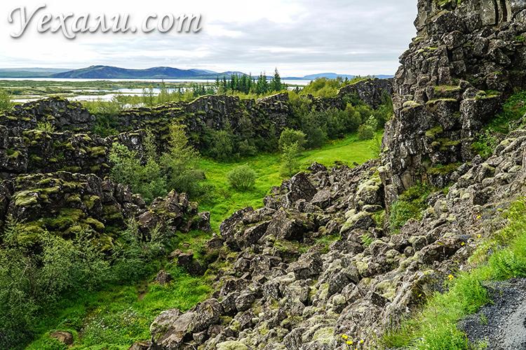 Национальный парк Тингвеллир, Исландия.