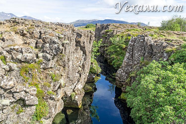 На фото: национальный парк Тингвеллир, Исландия.