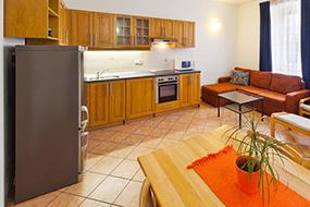 Отели в Малой Стране, Прага. Charles Bridge Apartments.