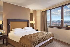 Отели Праги 2, Новый город, район крепости Вышеград. Corinthia Hotel Prague.