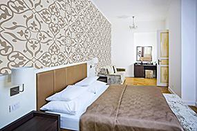 Отели района Винограды в Праге (Чехия). Deminka Palace.