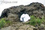Лавовые поля Димму Боргир в Исландии: здесь живут Дед Мороз и… дьявол
