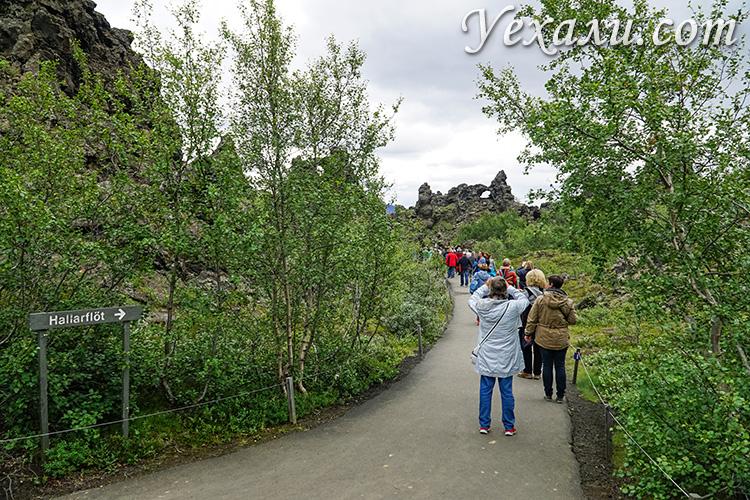 На фото: долина Димму Боргир (Dimmu Borgir), Исландия.