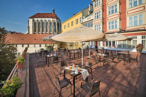 Отели на Вацлавской площади в Праге. EA Hotel Julis.