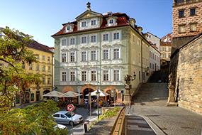 Отели в Малой Стране, Прага. Golden Star.