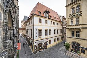 Отели в Праге в центре. Hotel Cerny Slon.