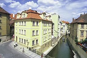 Отели района Мала Страна, Прага. Hotel Certovka.