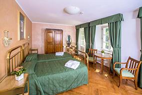 Отели Праги в районе Мала Страна. Hotel Roma Prague.