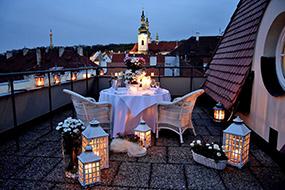 Отели района Градчаны, Прага. Hotel Savoy.