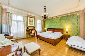 Отели Малой Страны, Прага. Hotel U Jezulatka.