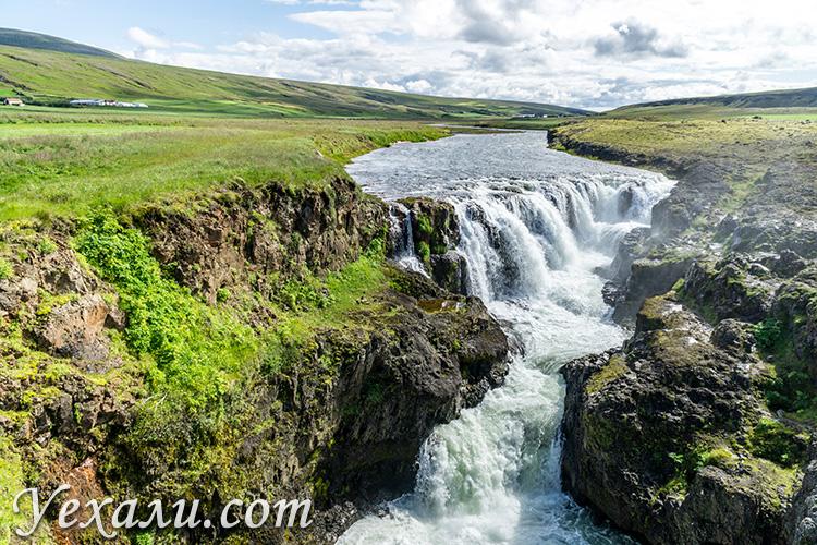 Самые красивые каньоны Исландии. Каньон Колуглюфур (Kolugljufur).
