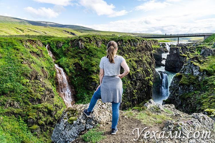 Самые красивые каньоны Исландии. Каньон Колугльюфур.
