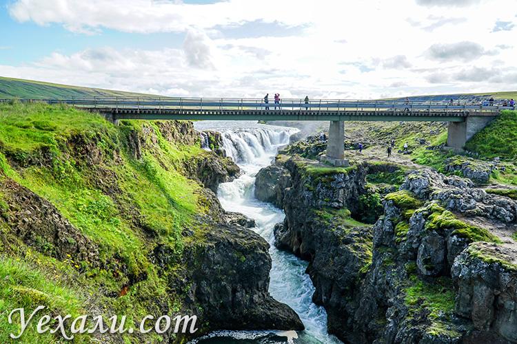 На фото: каньон Колугльюфур, Исландия.