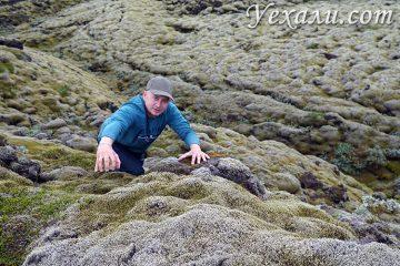 Фотографии лавовых полей в Исландии
