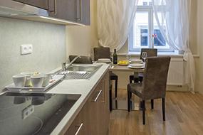 Отели в районе Жижков, Прага. Limes Apartments.