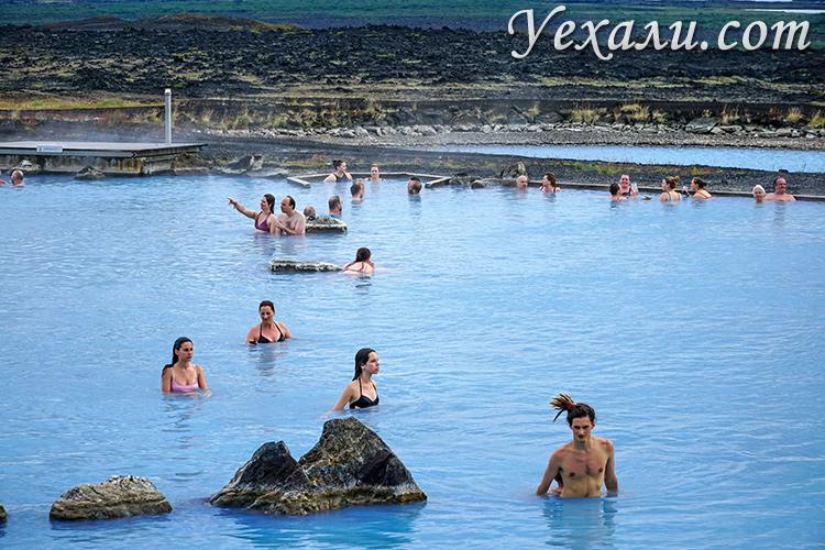 Термальные купальни Миватн, Исландия.