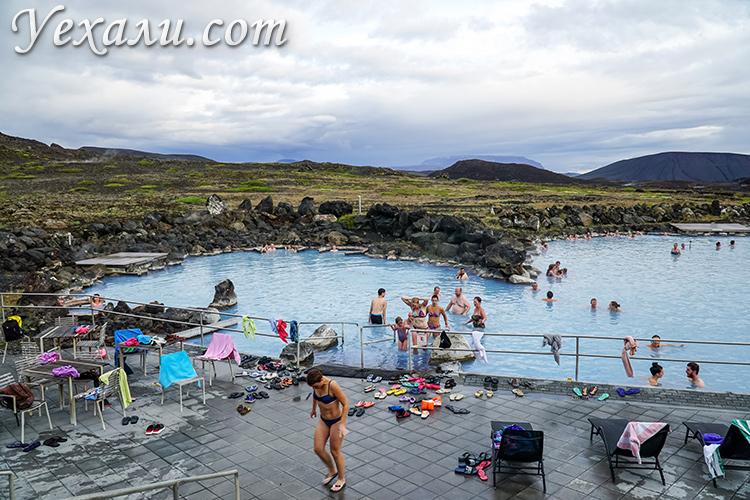 Термальные ванны Миватн, Исландия (Myvatn Nature Baths Iceland).