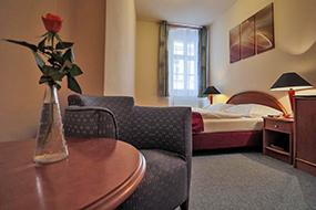 Отели в центре Праги на Букинге. Pension U Lilie.