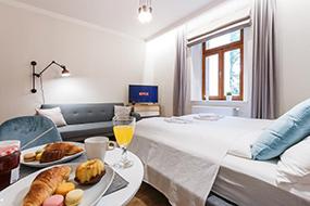 Недорогие отели в районе Жижков, Прага. Prime Aparts Prague.