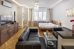 Апарт-отели в центре Праги. Selinor Old Town Apartments.