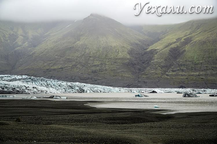Национальный парк и ледник Скафтафедль, Исландия.
