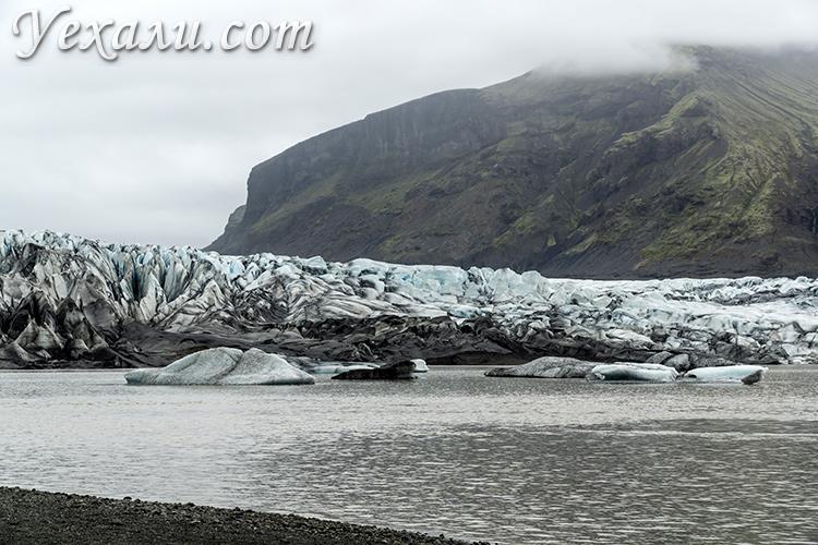 На фото: национальный парк и ледник Скафтафетль, Исландия.
