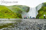 Скогафосс – наш любимый водопад Исландии и лучший подарок на день рождения!