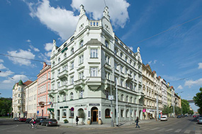 Отели района Вышеград в Праге. Union Hotel Prague.