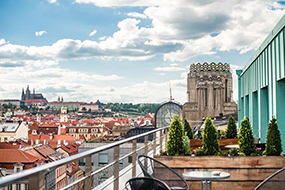 Апартаменты и отели на Вацлавской площади в Праге. EA Hotel Apartments Square Terraces.