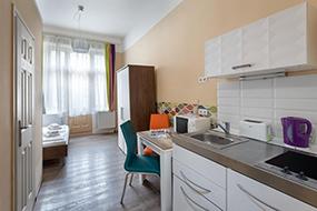 Апартаменты в Будапеште. Amber Terrace Studios.