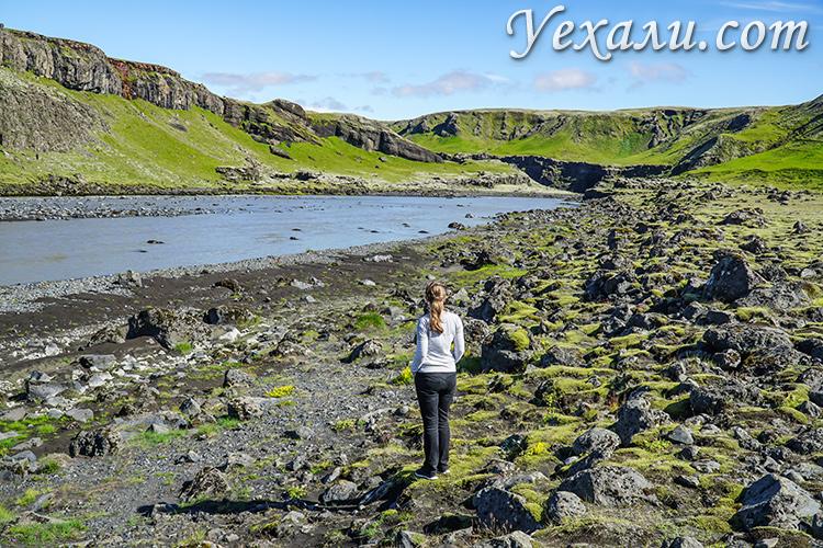 Пейзажи Южной Исландии.