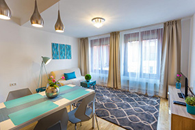 Апарт отели Будапешта в центре города. Colours Apartments Budapest.
