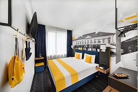 Хорошие недорогие отели в центре Будапешта. D8 Hotel.
