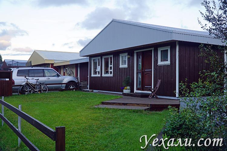 Фотографии исландских домов