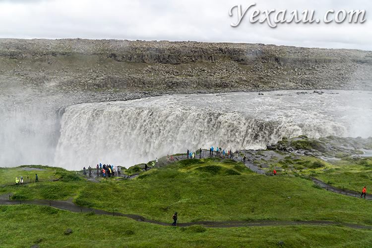 Самые красивые места Исландии. Водопад Деттифосс.