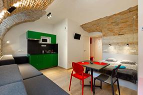 Апарт-отели Будапешта, Венгрия. Dice Apartments.