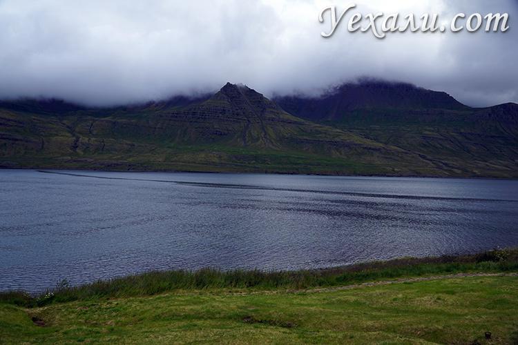 Фото фьордов на востоке Исландии
