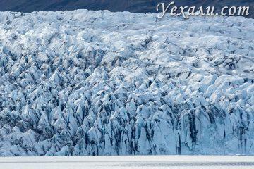 Самые красивые места Исландии. Ледник Ватнайёкюдль.