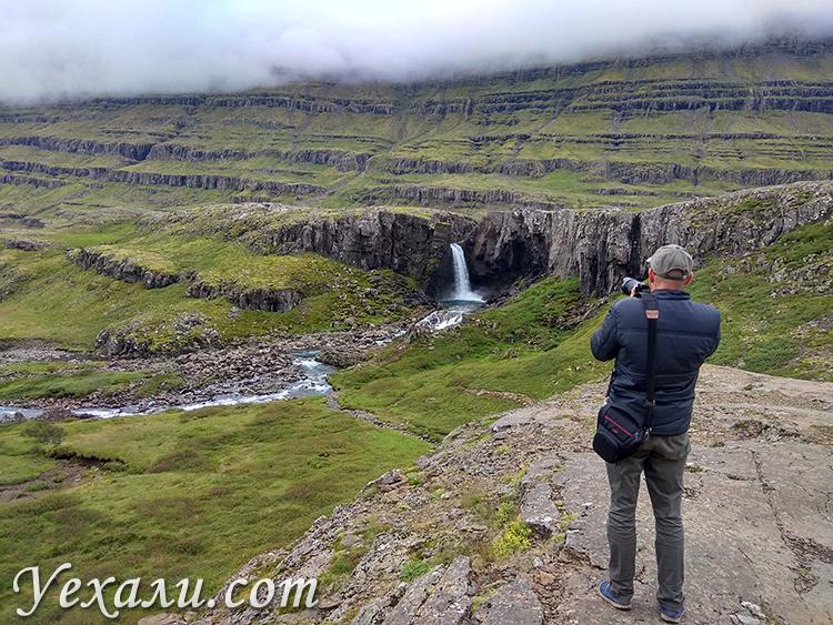 Красивые фото водопада Фолалдафосс в Исландии