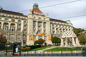 Отели Будапешта с термальными купальнями. Danubius Hotel Gellert.