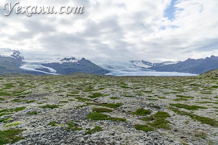 Ледники Исландии.