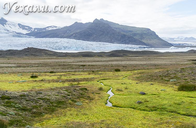 Самые красивые ледники Исландии.