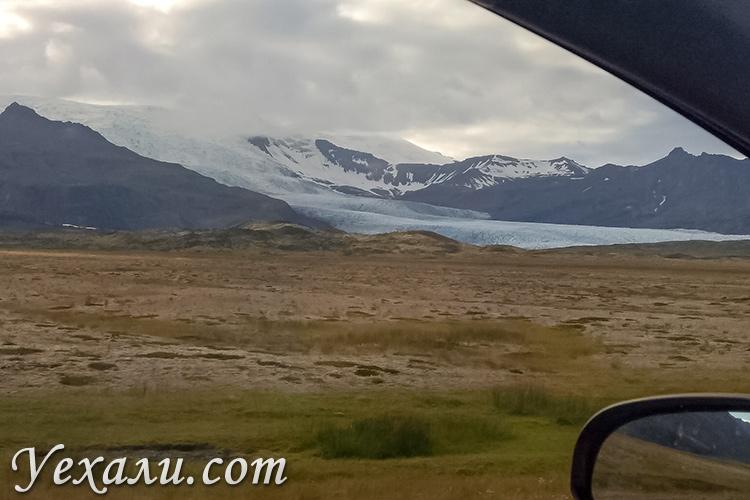На фото: ледники Исландии.