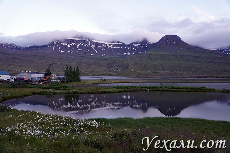 Фотографии восточных фьордов Исландии